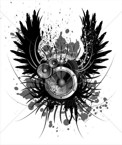 sound - Royalty Free Vector Illustration