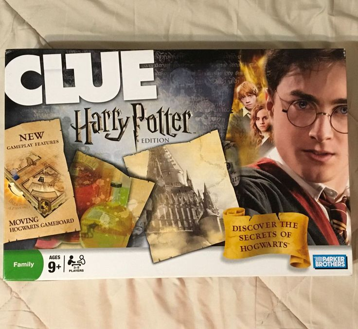 Harry Potter Clue 2008 Edition Hasbro Parker Brothers Board Game 99% #ParkerBrothers