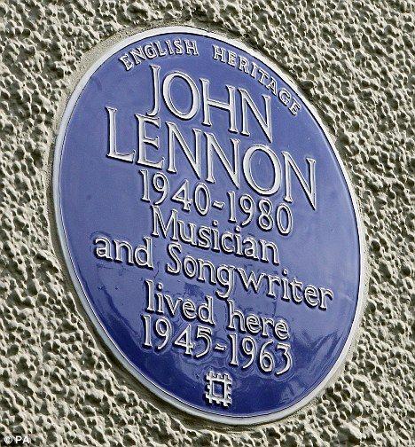 John Lennon. Músico y compositor. 34 Montagu Square Marylebone W1H 2LJ-