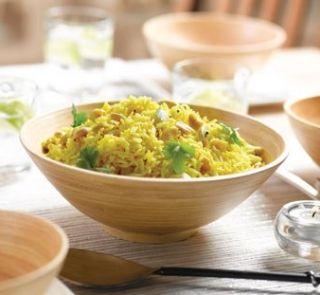 Lemon and cashew rice #glutenfree #vegetarian