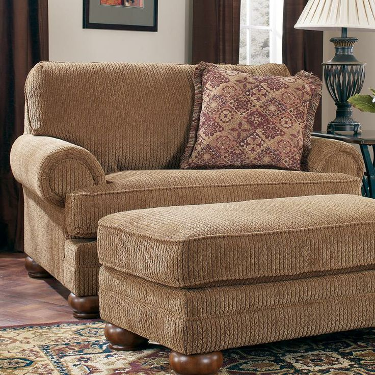 Richland - Amber Chair and 1/2 by Ashley Furniture with ottoman, different  color. Oversized ChairOversized Living Room ... - 25+ Best Ideas About Ashley Furniture Chairs On Pinterest Ashley