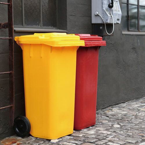 DULTON ONLINE SHOP | PLASTIC TRASH CAN 120L RED(120L RED): ハウス ...