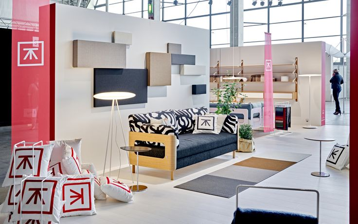 ON sofa bed in Tapio Anttila Collection stand in Habitare 2015.