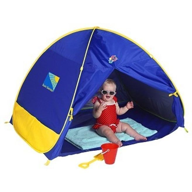 Beach Tent Infant Play Shade Pop Up Sand UV Protection C&ing Holiday Outdoor  sc 1 st  Pinterest & 14 best How to be safe in the sun images on Pinterest | Swim ...