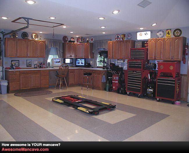 Man Cave Johnson City Tn : Amazing mancave in garage man cave decor with class