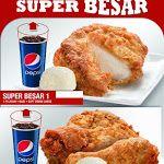 Harga KFC Super Besar Terkini 2014