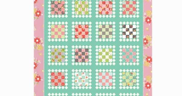 Rummage Sale Quilt Kit with Flower Mill by Corey Yoder for Moda PREORDER DUE OCTOBER