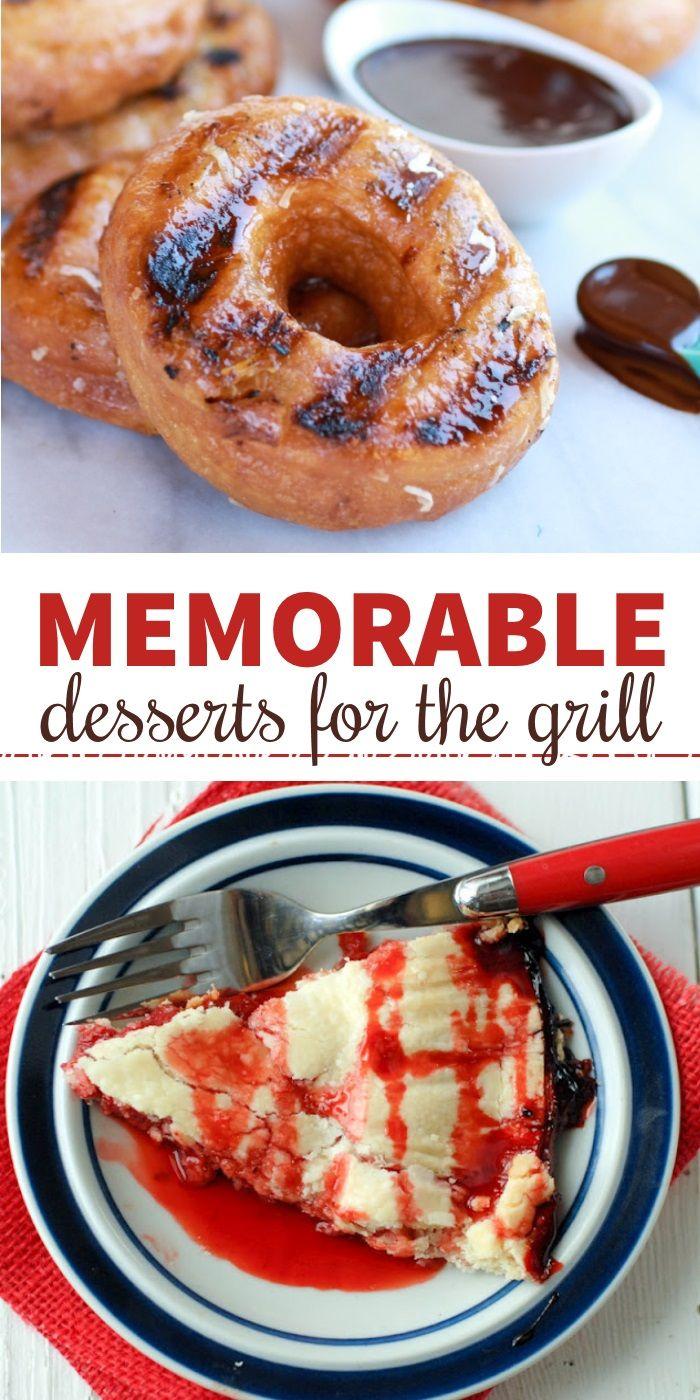A Dozen Delightful Grilled Desserts - One Crazy House