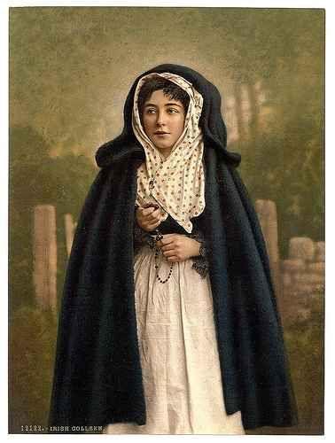 traditional irish clothes  | Traditional Irish Dress, 1890