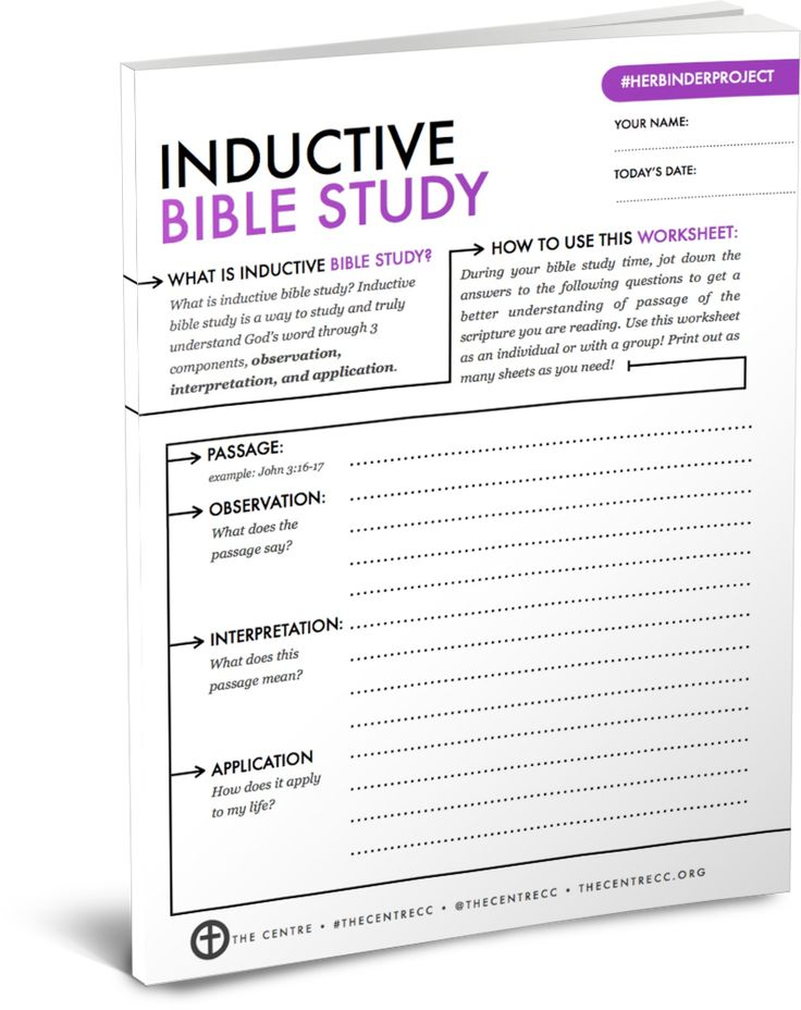 Seed and Bread - Free Bible Studies (pdf)