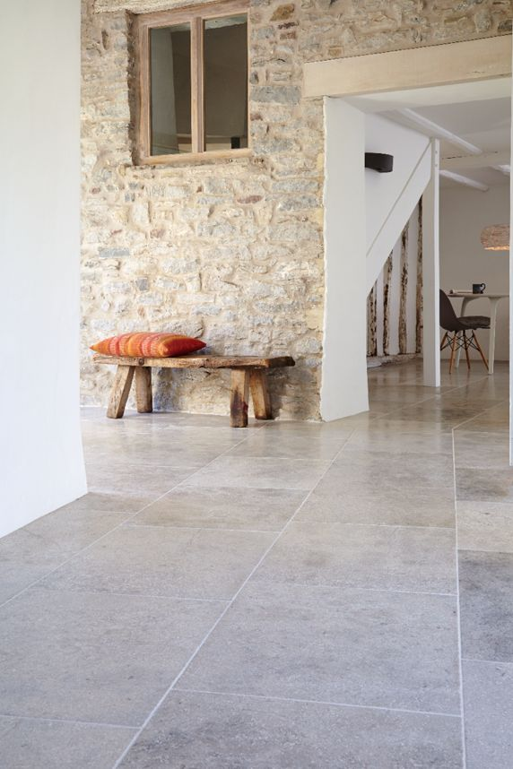 Blenheim Grey Brushed Limestone. An extremely hard European Limestone that…
