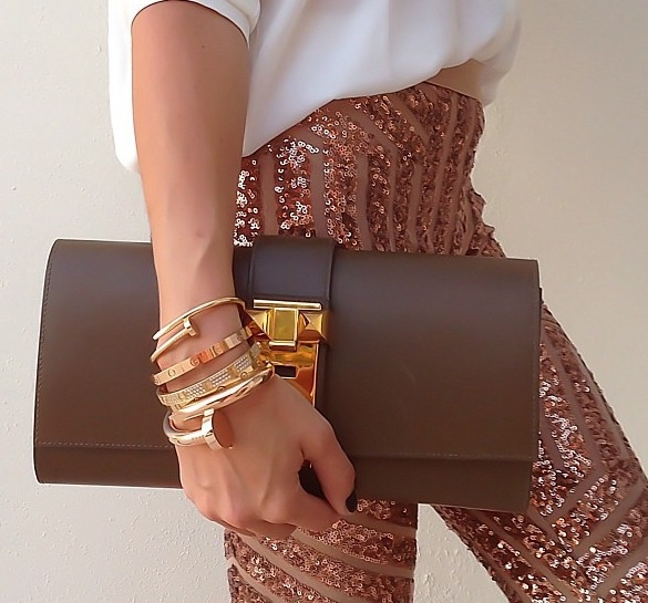 Hermes Medor Clutch | Women\u0026#39;s Style | Pinterest | Hermes, Sequin ...