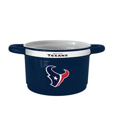 Take a look at this Houston Texans Game Time Bowl by Boelter Brands on #zulily today!