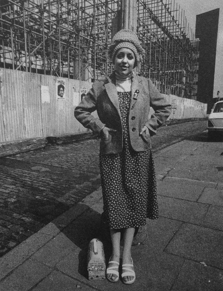 "toocutetopukeclub:  ""Poly Styrene, 1978. Photo by Pennie Smith.  """