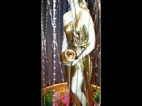 Vintage Rain Lamp - Pouring Goddess! - YouTube