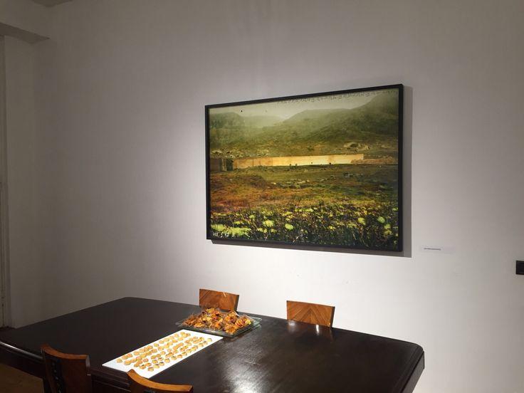 In questa un'opera di Giovanni Guadagnoli in sala riunioni.
