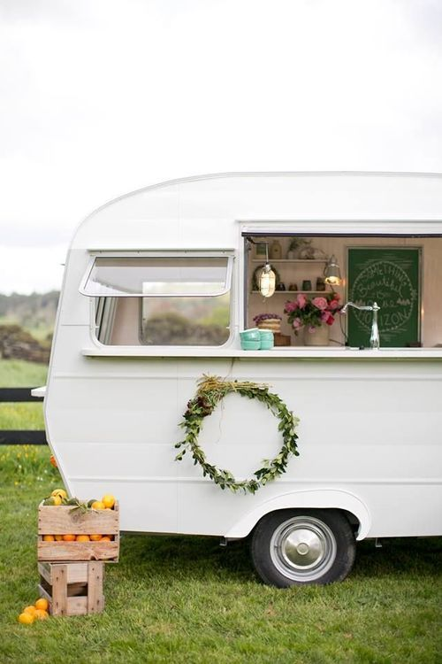 Adorable Camper| Vintage Trailer| Happy Glamping...love this