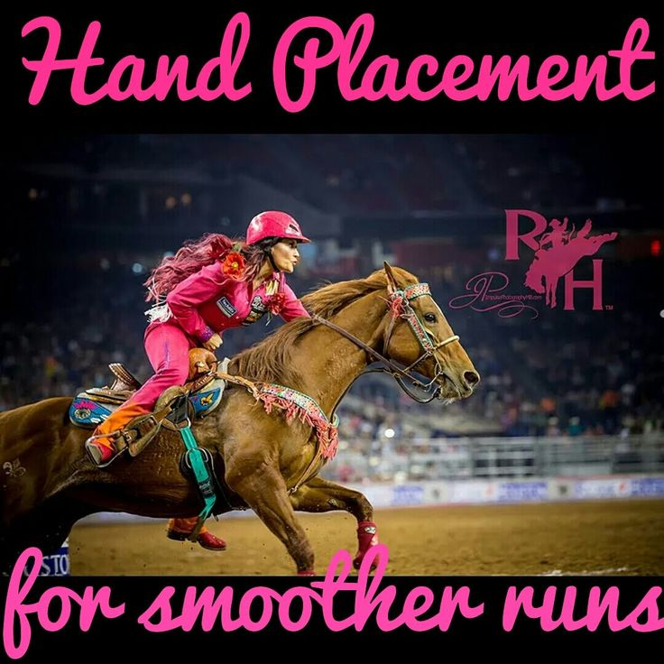 Hand Placement for Smoother Barrel Racing Runs