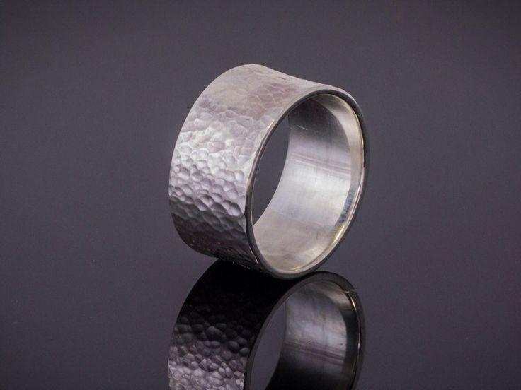 Bandring(15mm Breite;1,5mm Stärke), Ehering,Silber von Schmuck-Batih auf DaWanda.com