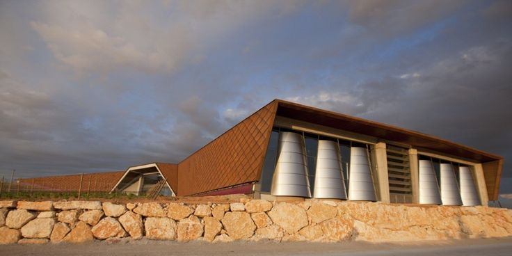 Built by Foster + Partners in Gumiel de Hizán, Spain The Ribera del Duero region, one of Spain's foremost wine producing areas, is home to a new winery for the Faustino G...