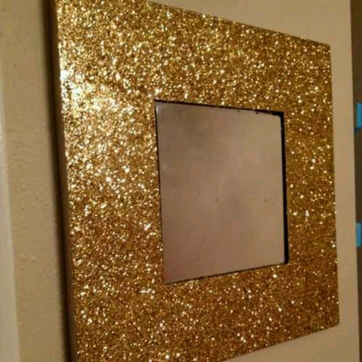 76 best everything with glitter images on pinterest for Cheap silver mirrors