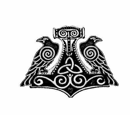 Heathen Tattoo by  painsplayground on deviantARTOdins Ravens Tattoo