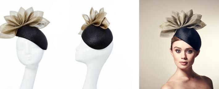 London Hat Designer Rosie Olivia Millinery creates glamorous hats for Royal Ascot that meet all the dress code restrictions | Rosie Olivia Millinery