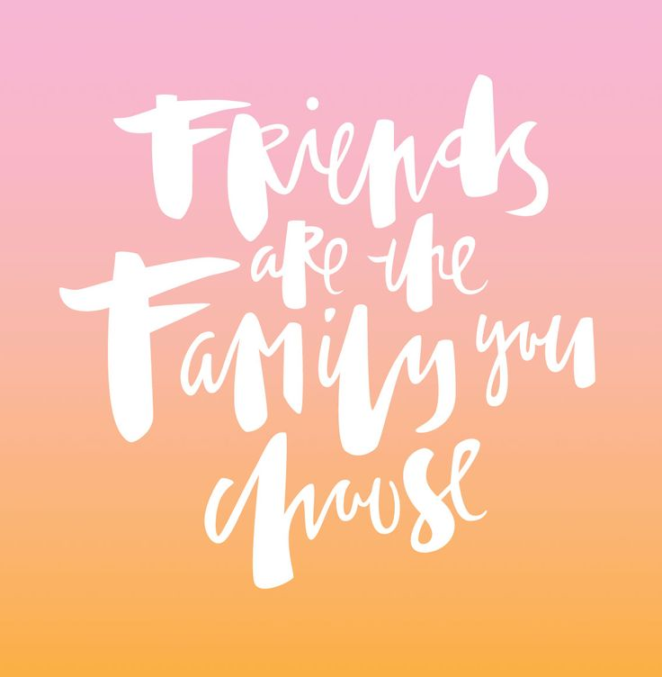 Family We Choose Quotes: 1000+ Ideas About Friends Are Family On Pinterest