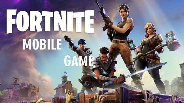 Fortnite Mobile Game Fortnite Battle Royal The Real Game Fortnite Epic Games Battle Royale Game