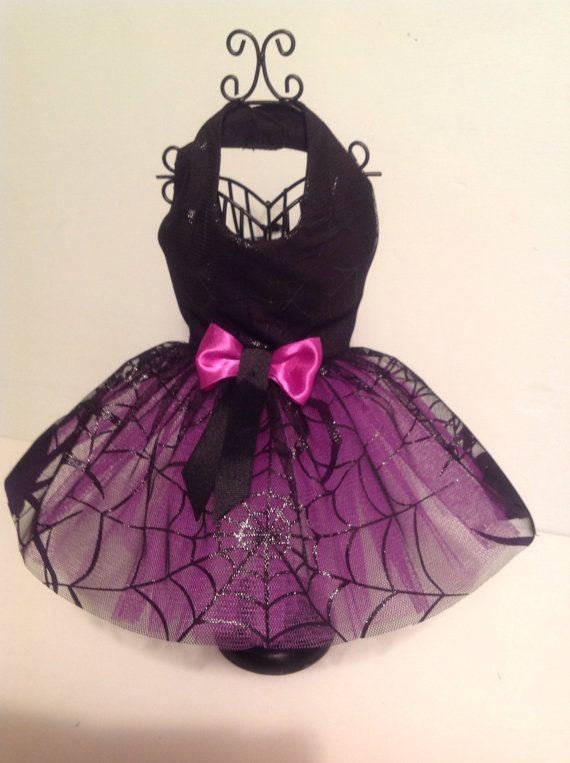 Halloween spider Fancy Dress dog Costumes by Preciouspupboutique                                                                                                                                                                                 Mais