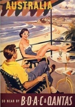 Australian retro posters