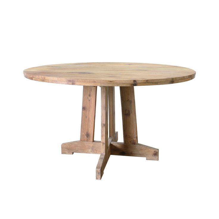 Round Teak Table • WOO Design