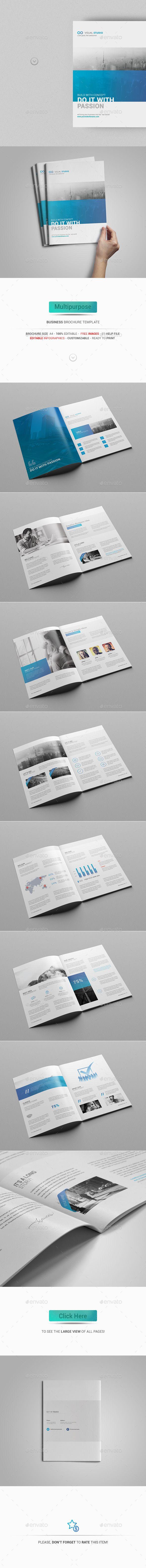 Multipurpose Business Brochure Tempalte #design Download: http://graphicriver.net/item/multipurpose-business-brochure-template/12910268?ref=ksioks