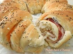 corona di pan brioche salata