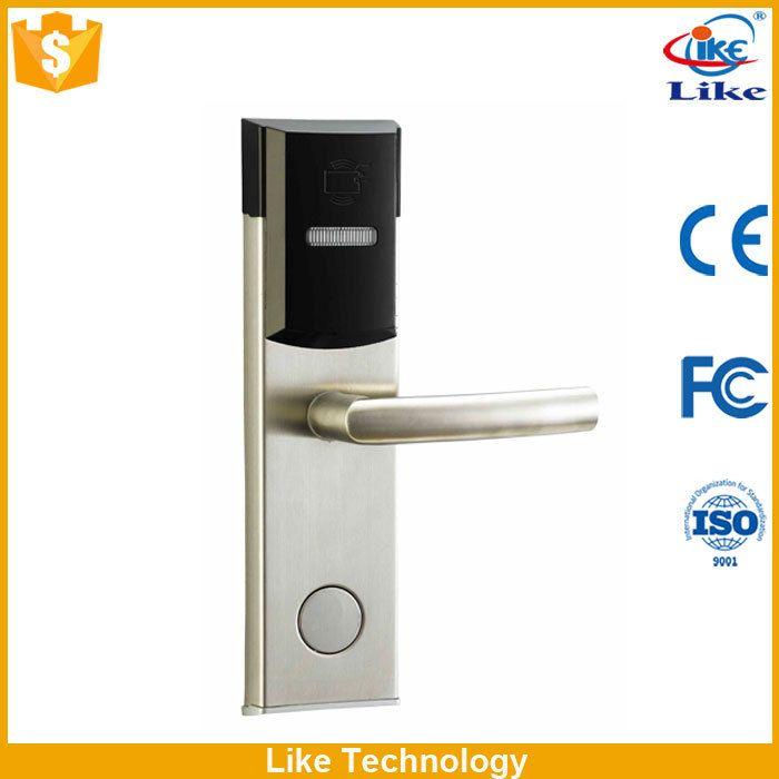 the intelligent smart hotel door lock with free software Factory price