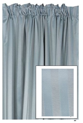 This is a block out curtgain with a jacquard stripe detail that appeals to a classic taste and is suitable for all rooms. The block out lining is an effective way to minimise uv light from entering the room. only R329.99 at mrphome