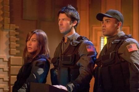 Teyla, Sheppard, & MIA Lt. Aiden Ford