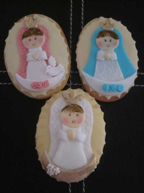 Primera Comunión cookies, Comunin galletas decoradas, tomar la ...