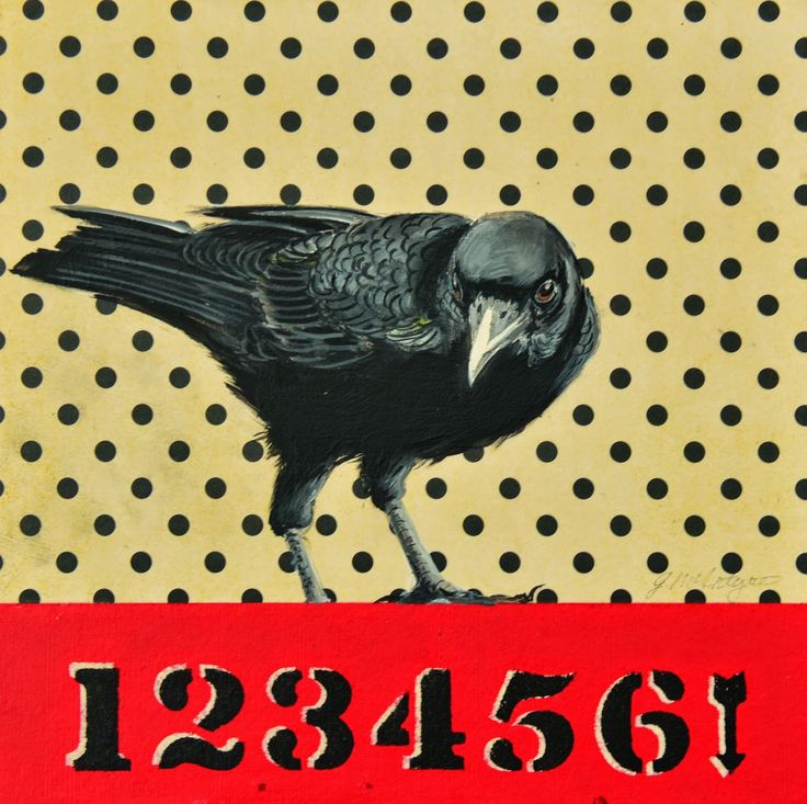 175 best Crows in mixed media images on Pinterest | Crows ravens ...
