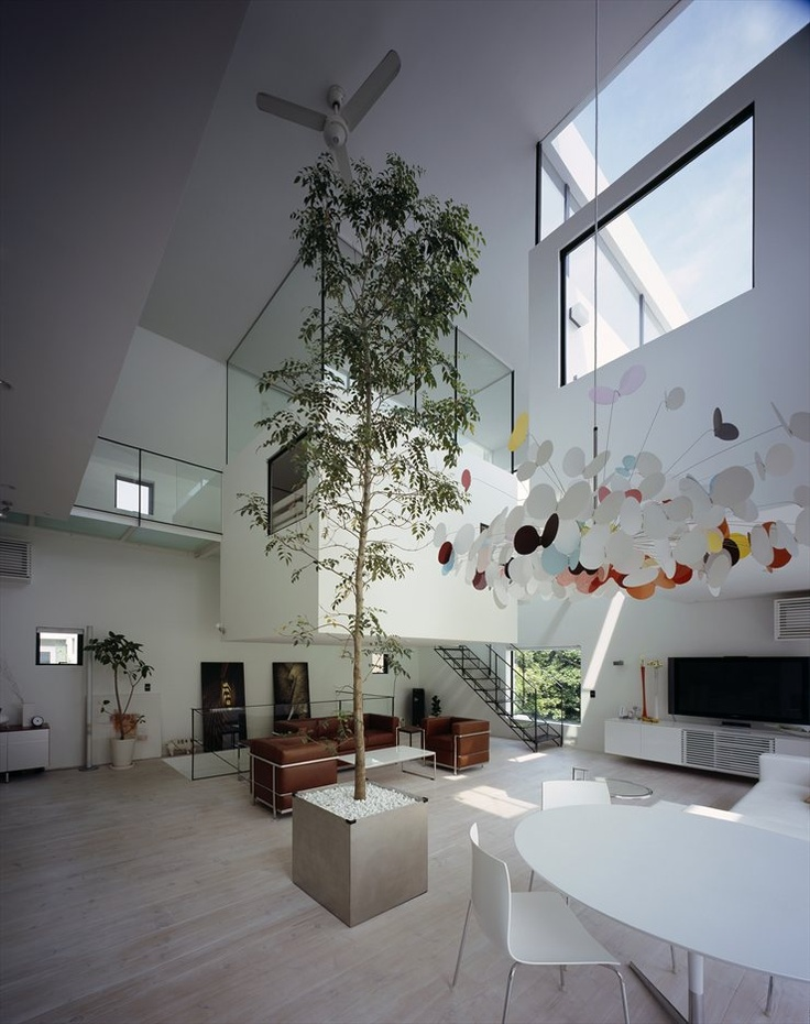 Captivating 555 Architectural   Kre House    This Minimalist House, Designed By No. 555  Architectural Design Office, Is Located In Tokyo, Japan With A Very Weird  Living ... Pictures Gallery