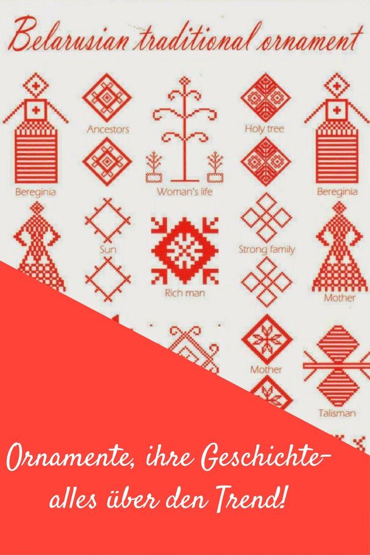 Belarussische Ornamente sind ein neuer Trend. Alles über Ornamente und ihre Rolle in Belarus/ Weißrussland
