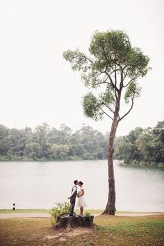 Take your pre-wedding photo shoot outdoors // Most Romantic Spots for Photo Taking in Singapore - Part 1