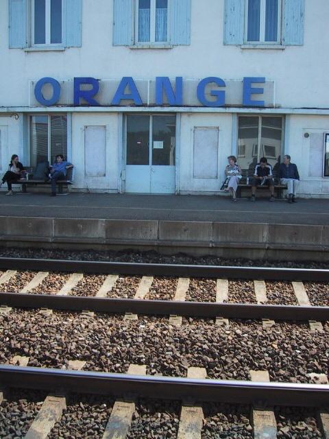 Orange France, Train Station