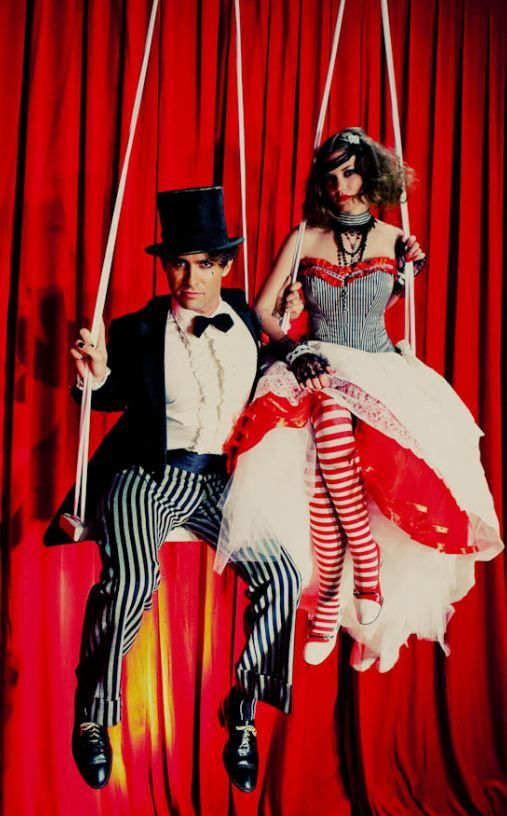 Dark Circus Wedding...omg I want someone I know to have a wedding like this!