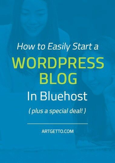 How to easily start a WordPress blog in Bluehost