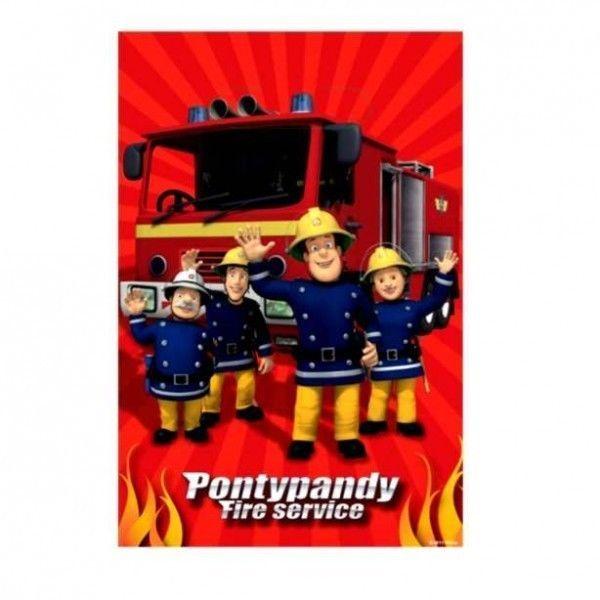 Fireman Sam - Party Gift Bags 8 Pcs