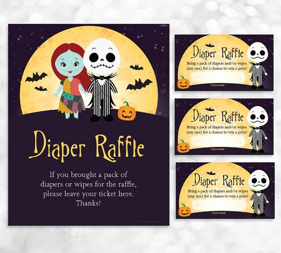 Hey, I found this really awesome Etsy listing at https://www.etsy.com/listing/263125020/nightmare-before-christmas-diaper-raffle