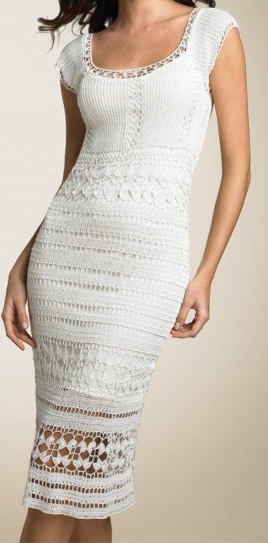 vestido branco justo