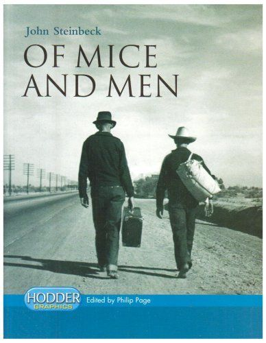Of Mice and Men (Hodder Graphics) by John Steinbeck,