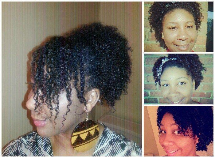 Faux Wash n' Go on 4C Hair Tutorial